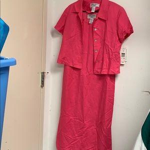 Jessica Howard Two Piece Dress Set Size 14P